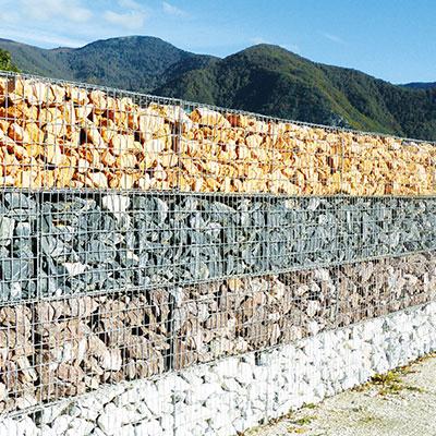 Gabions murs couvertines parements les mat riaux for Parement exterieur pas cher
