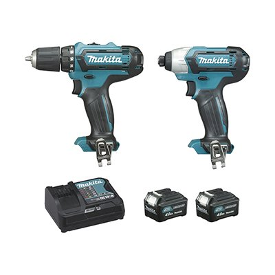 Ensemble de 2 machines CLX201SMJ Makita