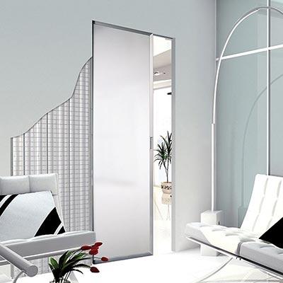 porte coulissante pour l 39 am nagement int rieur el ments. Black Bedroom Furniture Sets. Home Design Ideas