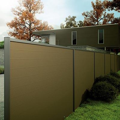panneaux pare vue bois panneau brise vue les mat riaux. Black Bedroom Furniture Sets. Home Design Ideas