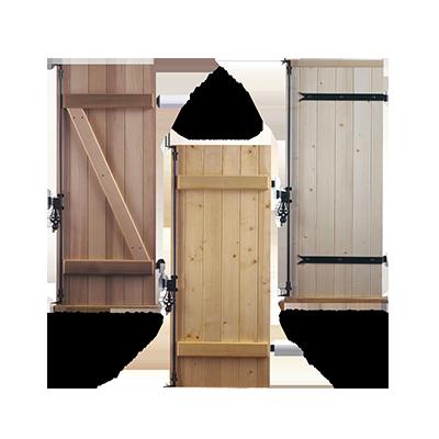 volets bois volets battants les mat riaux. Black Bedroom Furniture Sets. Home Design Ideas