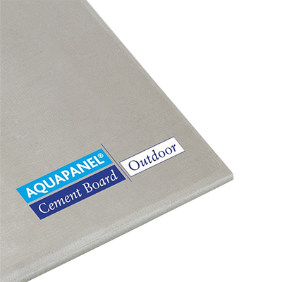Plaque de ciment Aquapanel® outdoor Knauf