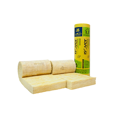 Isolation ossature bois mat riaux d 39 isolation les for Laine de verre ou laine de bois