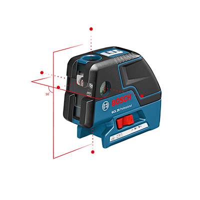 Laser 5 points Gcl 25 Bosch