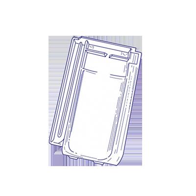 tuile en verre m ga 10 migeon les mat riaux. Black Bedroom Furniture Sets. Home Design Ideas