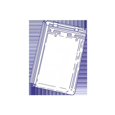 tuile en verre standard 9 jacob les mat riaux. Black Bedroom Furniture Sets. Home Design Ideas