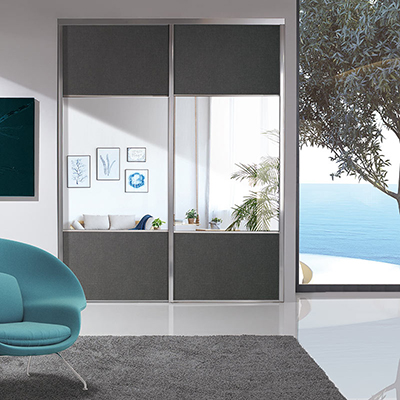 PORTES COULISSANTES SILLAGE MODELE TRIO 1-2-1 Coulidoor