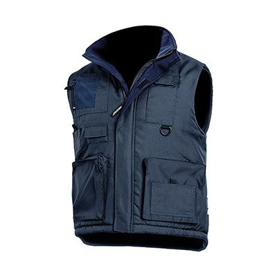 Gilet multipoches double polaire