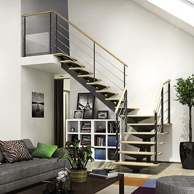 escalier helicoidal flin
