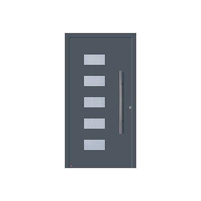 Porte aluminum thermosafe les mat riaux - Porte d entree aluminium castorama ...