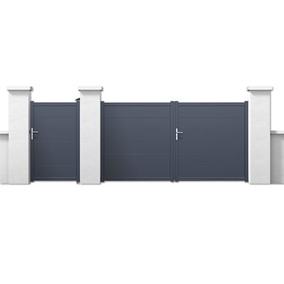 portail lectrique motorisation portail les mat riaux. Black Bedroom Furniture Sets. Home Design Ideas