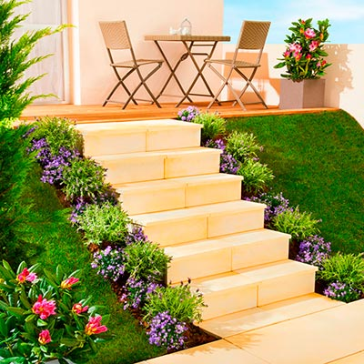 Escalier ext rieur et blocs marches les mat riaux for Escalier modulesca