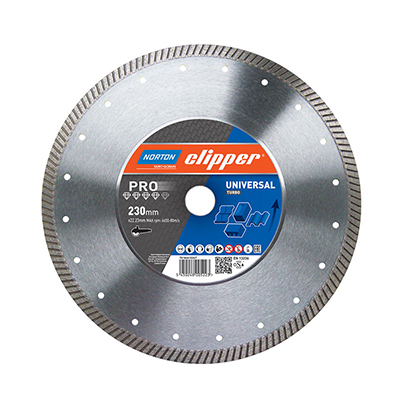 Disque diamant PRO UNIVERSAL TURBO Norton