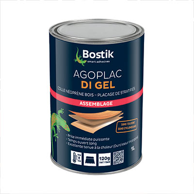 Colle contact Agoplac DI GEL Bostik