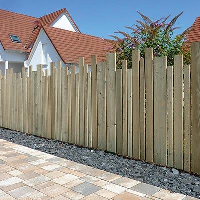 Panneaux pare vue bois panneau brise vue les mat riaux - Panneaux de separation pour exterieur ...