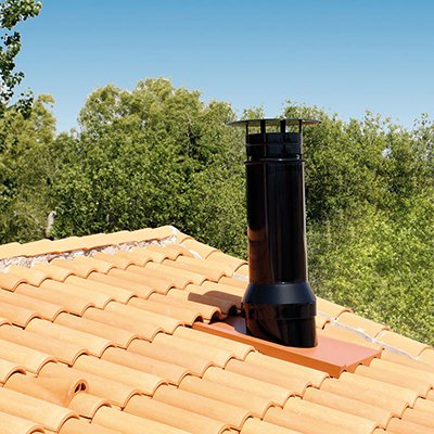 Extracteur statique sortie de toit fumisterie les - Sortie de toit poujoulat ...