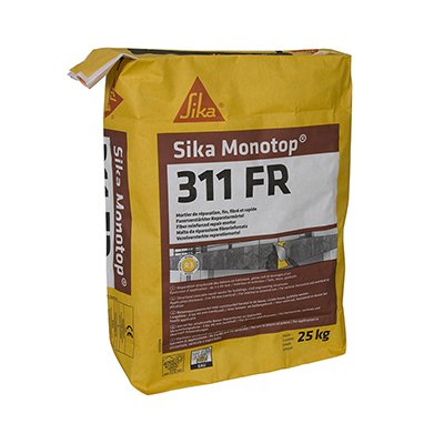 Mortier Sika Monotop®311 FR / 311 FR CLAIR Sika