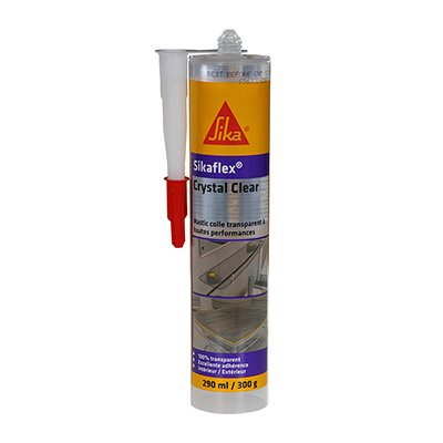 MASTIC COLLE MULTI-USAGES TRANSPARENT Sikaflex® Crystal Clear Sika
